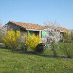 chalet au printemps Marais Poitevin