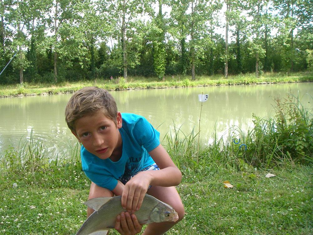 pêche avec Adrien