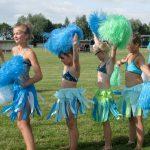 Pompom girls