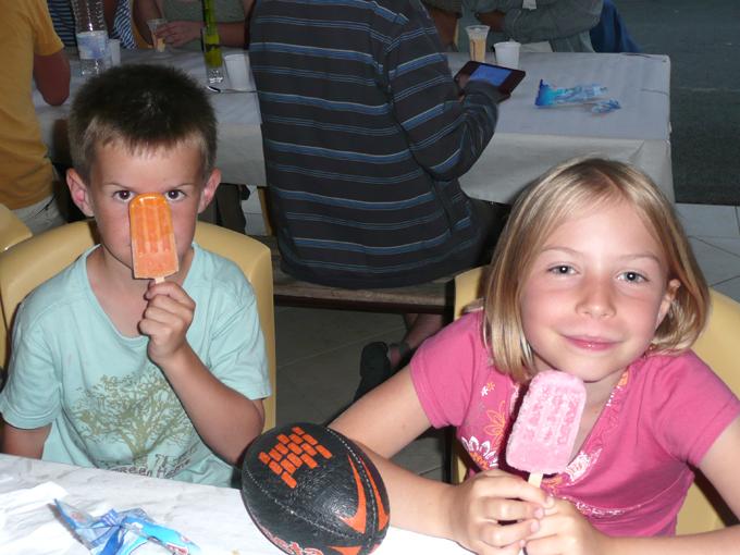Des glaces !