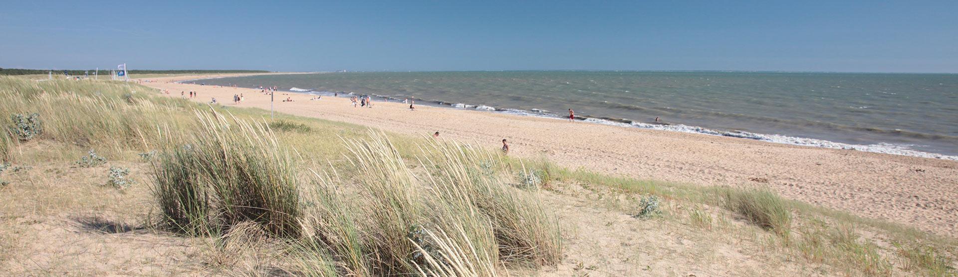 plages sud vendée à proximité