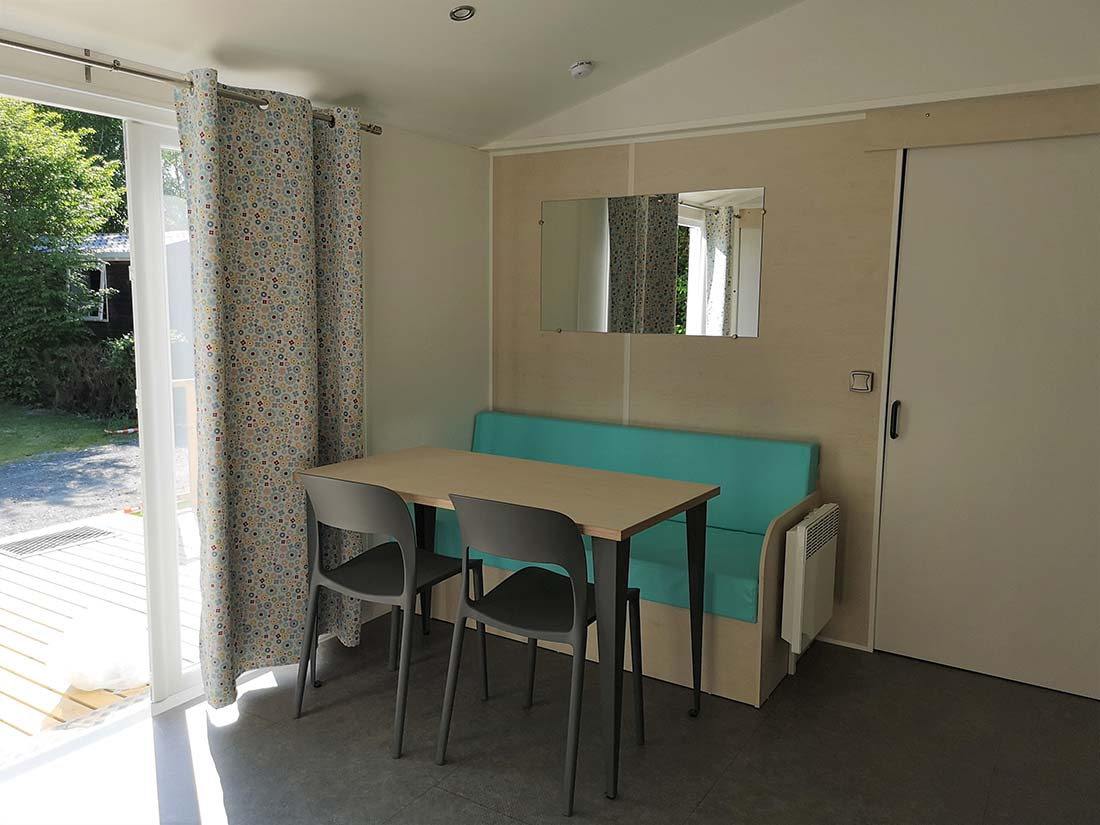 SALLE A MANGER Location mobilhome PMR